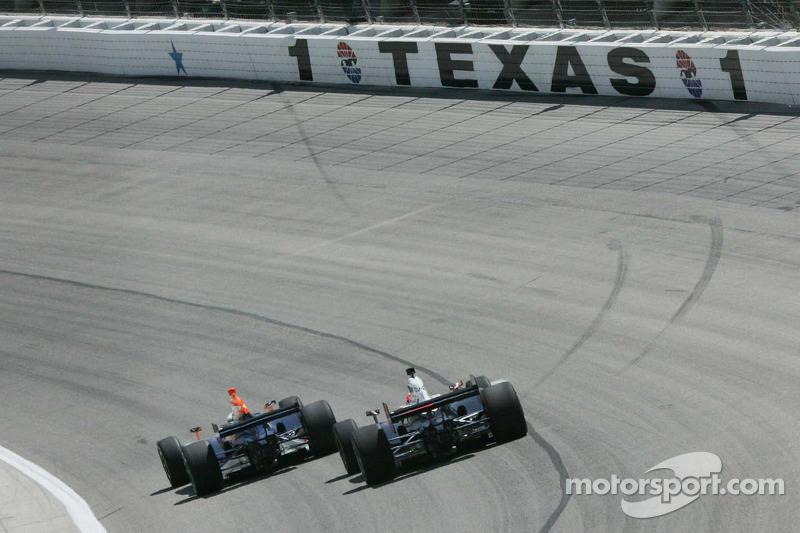 Bocht 1 bij Texas Motor Speedway