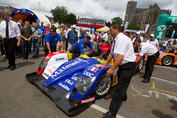 #6 AIM Team Oreca Matmut Oreca AIM out of scrutineering