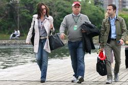 Luis Antonio Massa père de Felipe Massa, Scuderia Ferrari et Nicolas Todt, Manager de Felipe Massa, Scuderia Ferrari