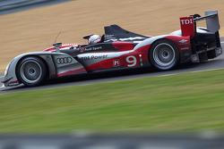 #9 Audi Sport North America, Audi R15: Mike Rockenfeller, Timo Bernhard, Romain Dumas