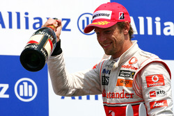 Podium: 2e  Jenson Button, McLaren Mercedes