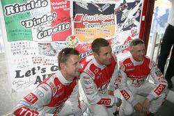 Allan McNish, Tom Kristensen, Rinaldo Capello