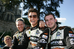 Allan Simonsen, Dominik Farnbacher and Leh Keen