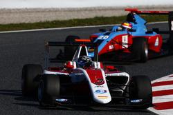Alexander Albon, ART Grand Prix memimpin Oscar Tunjo, Jenzer Motorsport