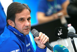 Davide Brivio, Suzuki MotoGP press conference