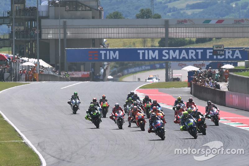 MotoGP Horarios del GP de Italia en Mugello