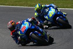 Maverick Viñales, Team Suzuki MotoGP, Aleix Espargaró, Team Suzuki MotoGP