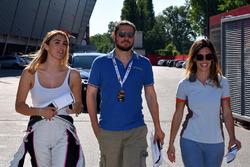 Alessandra Neri, B.D. Racing Motorsport, SEAT León Cup Racer, und Carlotta Fedeli, B.D. Racing Motorsport, SEAT León TCR