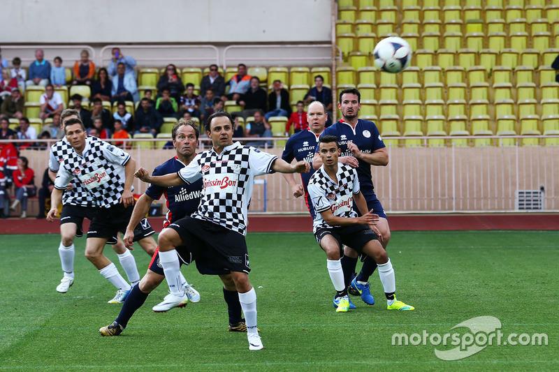 Феліпе Масса, Williams в благодійному футбольному матчі