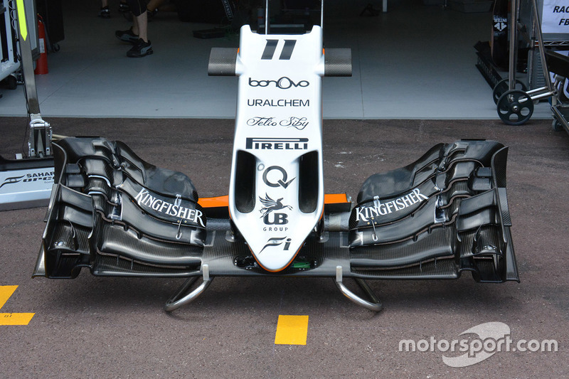 Force India VJM09, Frontflügel