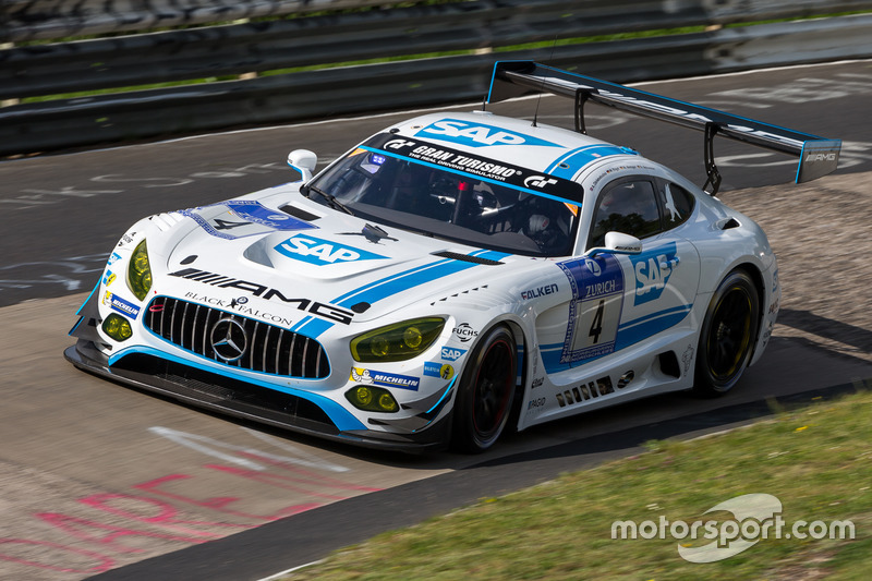 17. #4 AMG-Team Black Falcon, Mercedes-AMG GT3