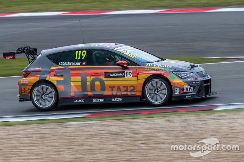 Christ-Johannes Schreiber, Krenek Motorsport, Seat Leon Cup