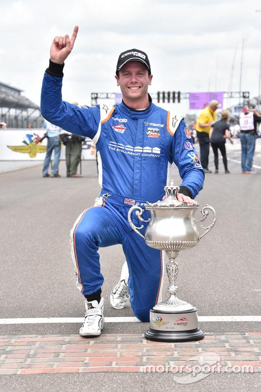 Dean Stoneman, Andretti Autosport, vincitore della gara