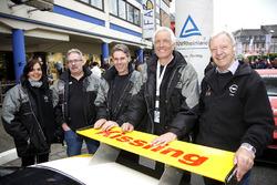 #122 Kissling Motorsport, Opel Manta: Olaf Beckmann, Volker Strycek, Peter Hass, Jürgen Schulten