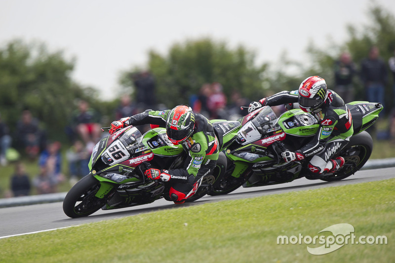 Tom Sykes y Jonathan Rea, Kawasaki Racing Team