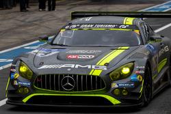#29 AMG-Team HTP Motorsport, Mercedes-AMG GT3: Крістіан Фіторіс, Марко Зеефрід, Крістіан Хоенадель, Ренгер ван дер Занде