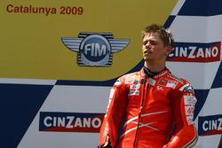 Podium: peringkat ketiga Casey Stoner, Ducati Team