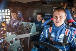 Kamaz: Eduard Nikolaev, Evgeny Yakovlev, Vladimir Rybakov