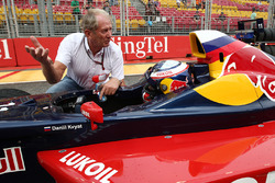 Dr. Helmut Marco, Red Bull Racing con Carlos Sainz Jr.