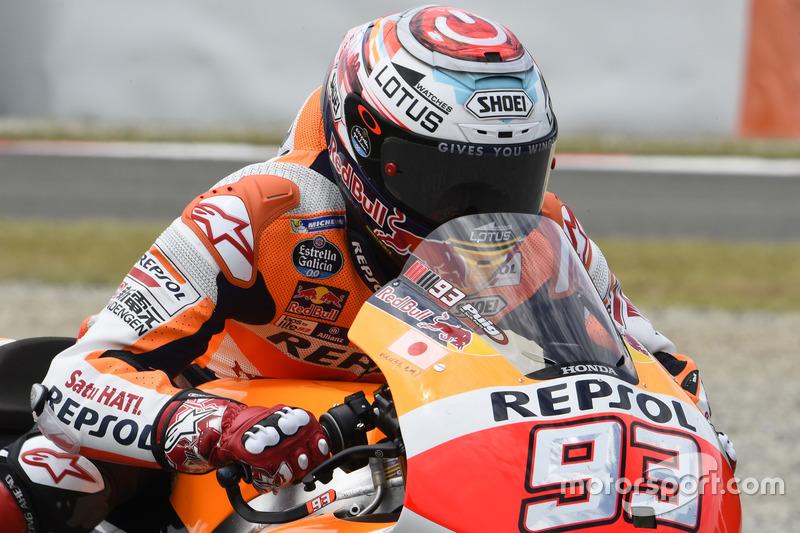 Marc Márquez, Repsol Honda Team, Inicio de la práctica