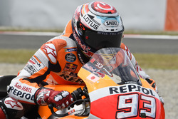 Marc Marquez, Repsol Honda Team, practice start