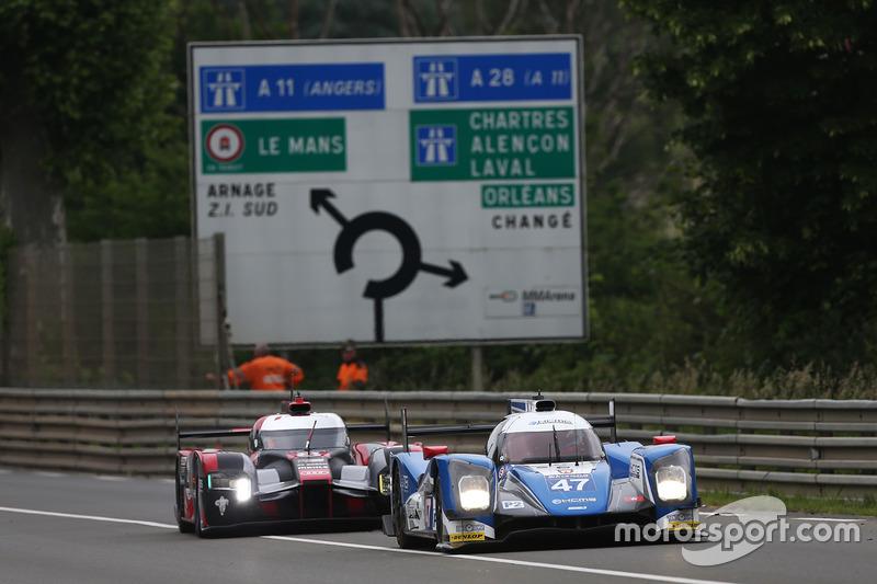 17: ORECA 05 - Nissan команды KCMG (№47): Цугио Мацуда, Мэтт Хаусон, Ричард Бредли