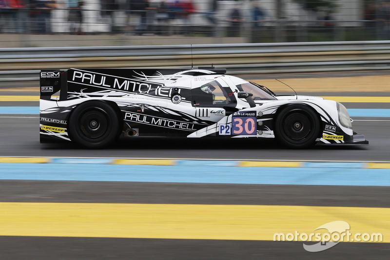 57: Ligier JS P2 - Nissan команды Extreme Speed Motorsports (№30): Скотт Шарп, Эд Браун, Йоханнес ван Овербек