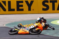 Davide Pizzoli, Procercasa - 42 Motorsport, kecelakaan