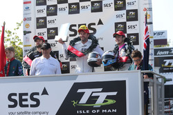 Podium: 2. William Dunlop; 1. Bruce Anstey; 3. Daley Mathison