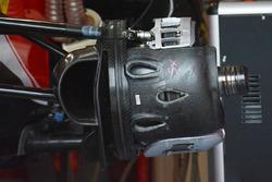 Ferrari SF16-H cestello dei freni anteriore, dettaglio