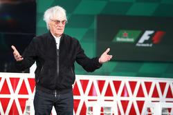 Bernie Ecclestone, anounces an F1 sponsorship deal with Heineken