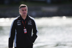 Andy Stevenson, Sahara Force India F1 Takım Menajeri