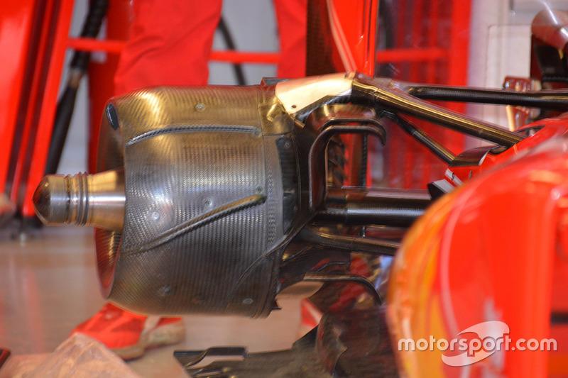 Ferrari SF16-H, cestello freni posteriore