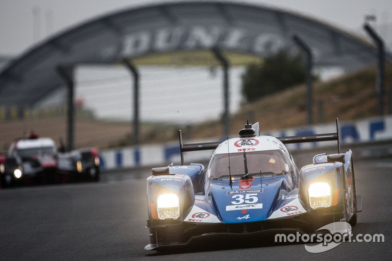 10: Alpine A460 Nissan команды Baxi DC Racing (№35): Дэвид Чен, Хо-Пин Тун, Нельсон Панчатичи