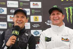 Pressekonferenz: Mattias Ekström, EKS RX; Petter Solberg, Petter Solberg World RX Team