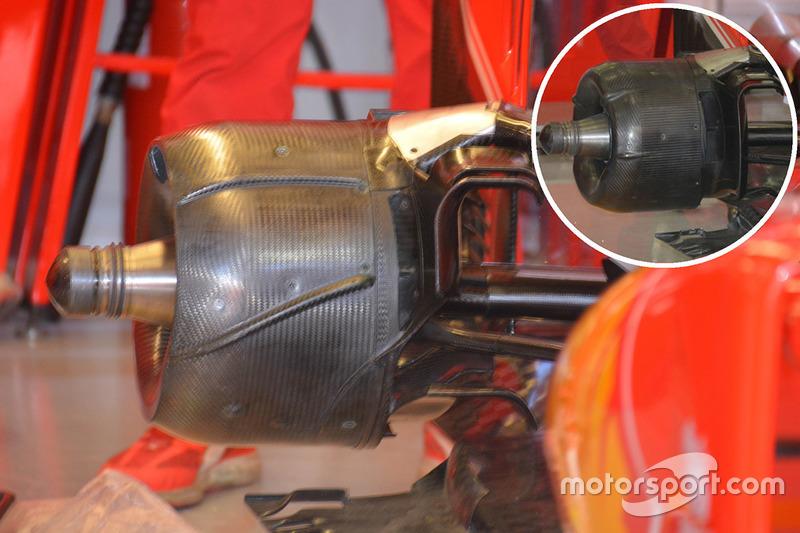 Ferrari SF16-H remmen