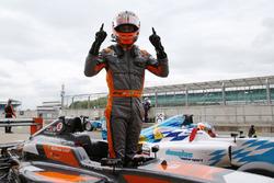 Il vincitore Matheus Leist, Double R Racing