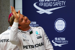 Nico Rosberg, Mercedes AMG F1 nel parco chiuso