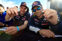 Davy Jeanney, Team Peugeot Hansen; Sテゥbastien Loeb, Team Peugeot Hansen