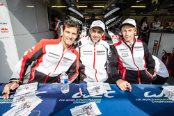 #1 Porsche Team Porsche 919 Hybrid: Mark Webber, Timo Bernhard, Brendon Hartley