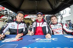 #5 Toyota Racing Toyota TS050 Hybrid: Kazuki Nakajima, Sébastien Buemi, Anthony Davidson