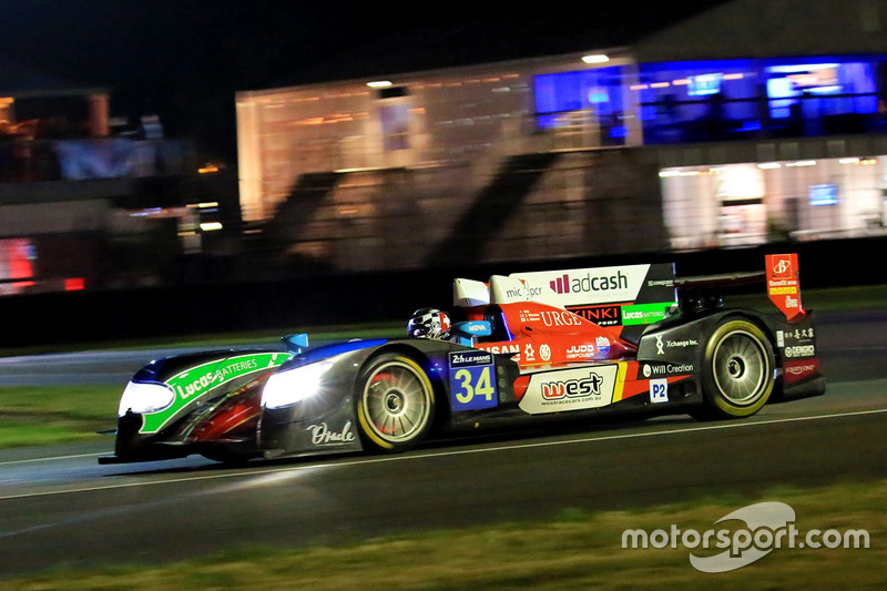 44th: #34 Race Performance Oreca 03R Judd: Nicolas Leutwiler, James Winslow, Shinji Nakano