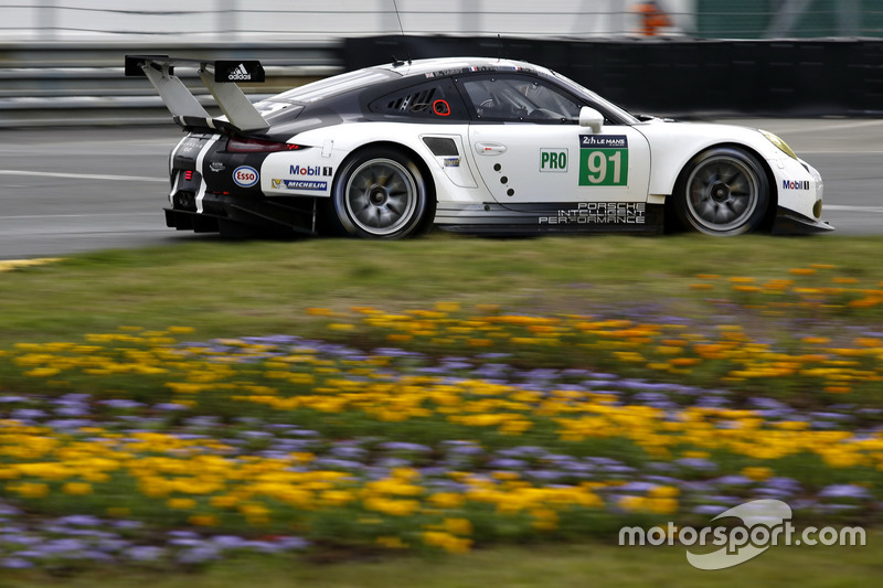 37: #91 Porsche Motorsport Porsche 911 RSR: Nick Tandy, Patrick Pilet, Kevin Estre