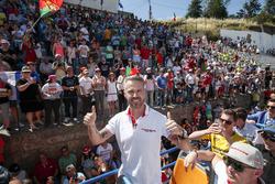 Tiago Monteiro, Honda Racing Team JAS, Honda Civic WTCC con fans