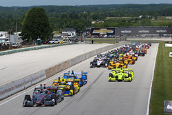 Старт: лідирує Вілл Пауер, Team Penske Chevrolet