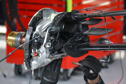 Red Bull Racing front brake detail