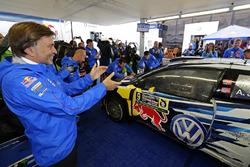 Andreas Mikkelsen, Anders Jテ、ger, Volkswagen Polo WRC, Volkswagen Motorsport bersama Jost Capito, Volkswagen Motorsport Director
