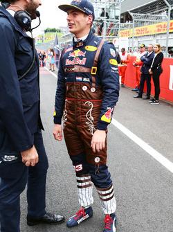 Max Verstappen, Red Bull Racing in griglia