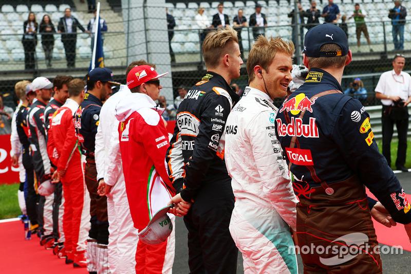Nico Rosberg y Max Verstappen