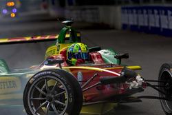 Chrash Lucas di Grassi, ABT Schaeffler Audi Sport